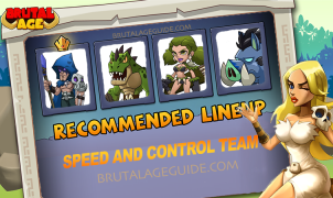 lineup 01 - speed and control team