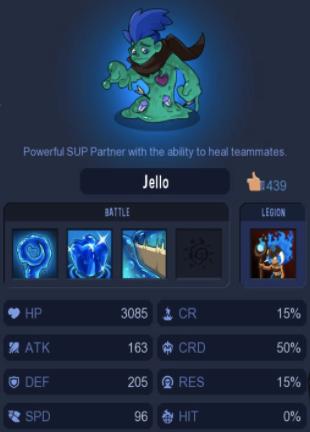 Blue Jello