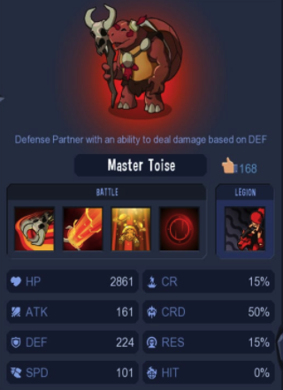 Red Master Toise
